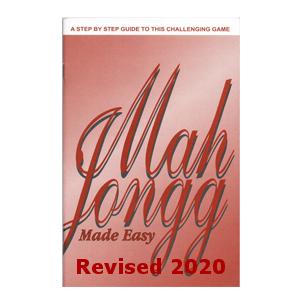 Mah Jongg Made Easy Book